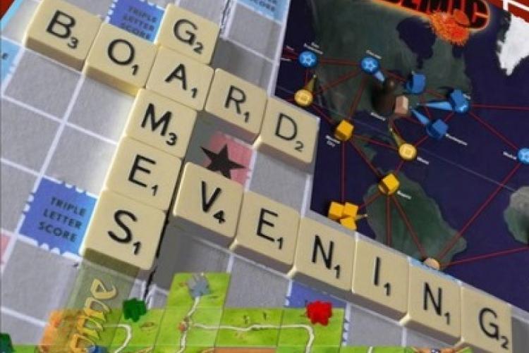 Board Games Flyer